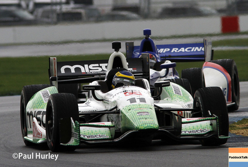 May 9: Sebastien Bourdais during practice and qualifications for the Grand Prix of Indianapolis