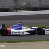 May 9: Mikhail Aleshin during practice and qualifications for the Grand Prix of Indianapolis