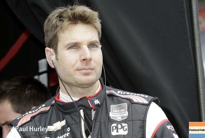 May 9: Will Power during practice and qualifications for the Grand Prix of Indianapolis
