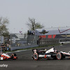 May 10: Will Power and Juan Montoya during the Grand Prix of Indianapolis.