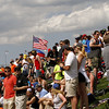 May 10: Race day crowd during the Grand Prix of Indianapolis.