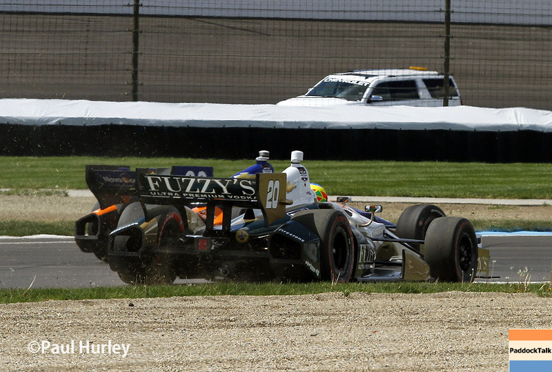 May 10: Mike Conway during the Grand Prix of Indianapolis.
