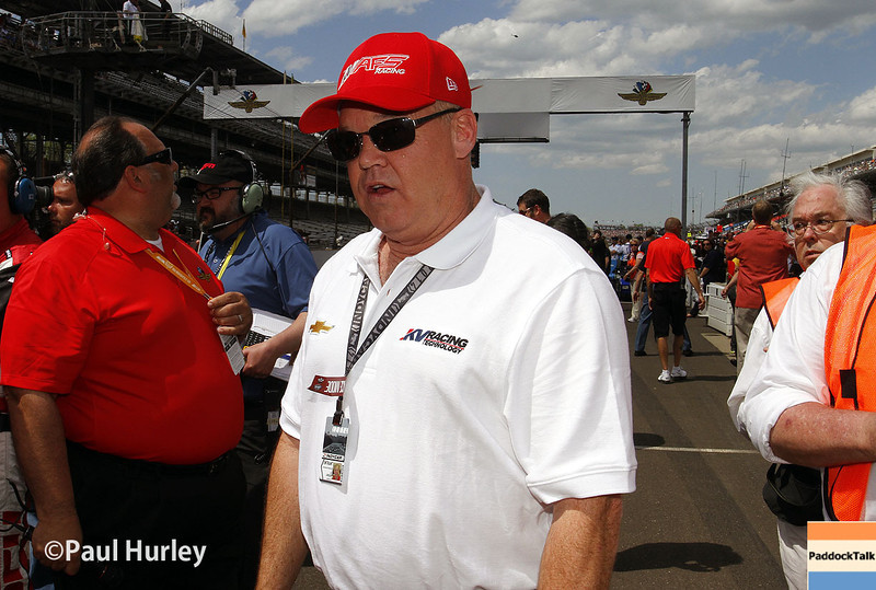 May 10: Al Unser Jr. during the Grand Prix of Indianapolis.