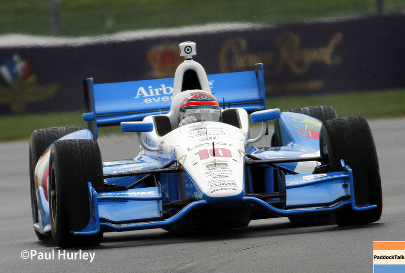 May 9: Tony Kanaan during practice and qualifications for the Grand Prix of Indianapolis