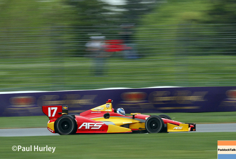 KV Racing driver Sebastian Saavedra will start from Pole at the Indianapolis Grand Prix.