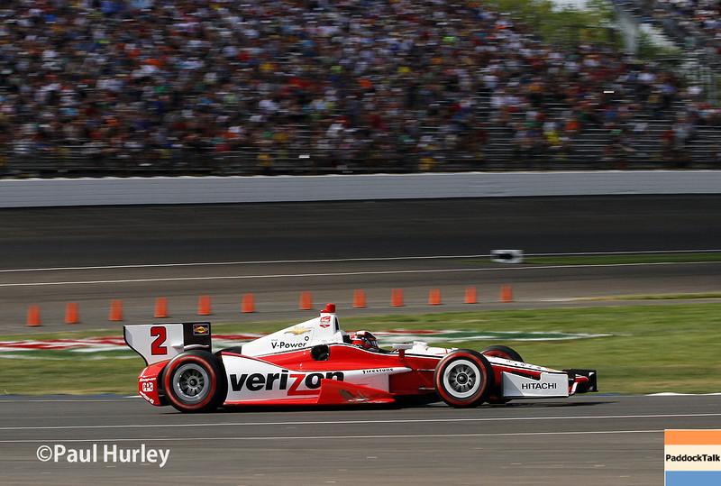 May 10: Juan Montoya during the Grand Prix of Indianapolis.