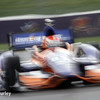 May 9: Charlie Kimball during practice and qualifications for the Grand Prix of Indianapolis