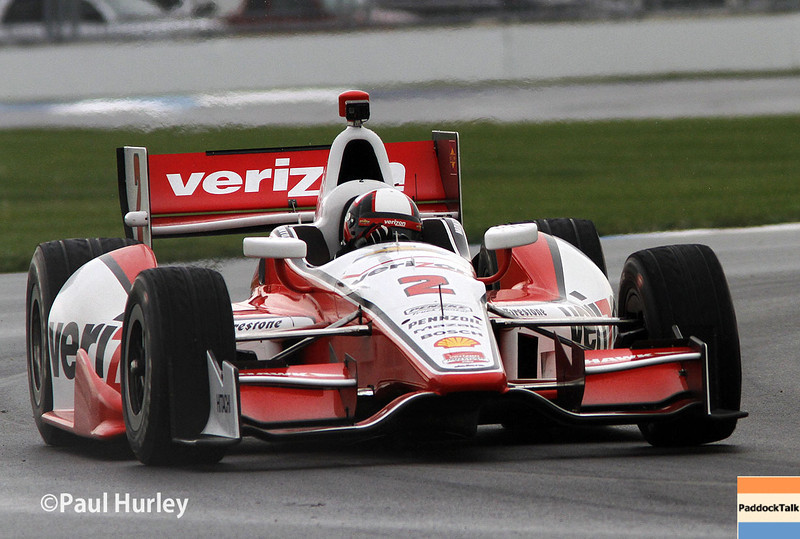 May 9: Juan Montoya during practice and qualifications for the Grand Prix of Indianapolis
