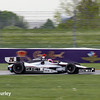 May 9: Franck Montagny during practice and qualifications for the Grand Prix of Indianapolis