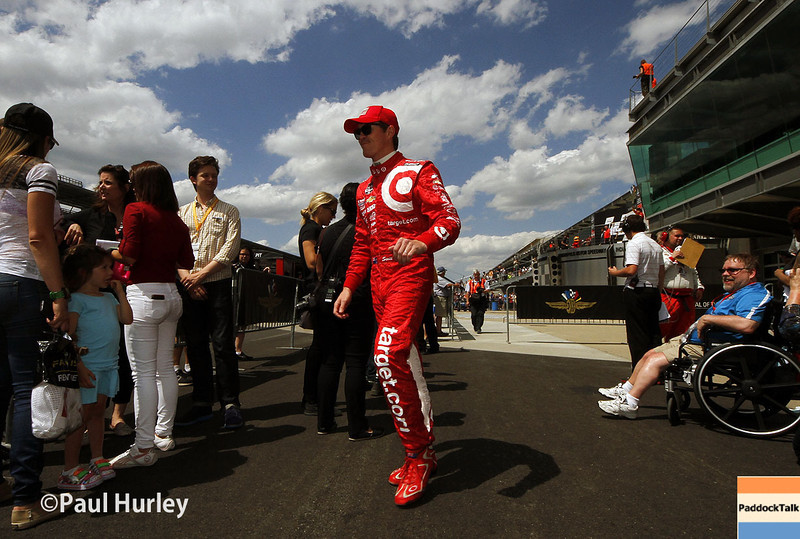 May 10: Scott Dixon during the Grand Prix of Indianapolis.