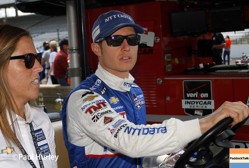 May 10: Ryan Briscoe during the Grand Prix of Indianapolis.