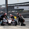 May 10: Will Power pit stop during the Grand Prix of Indianapolis.