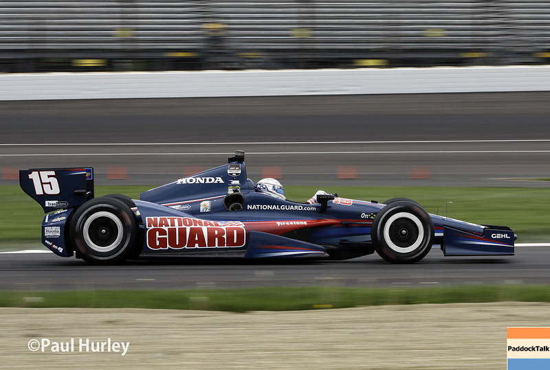 May 9: Graham Rahal during practice and qualifications for the Grand Prix of Indianapolis