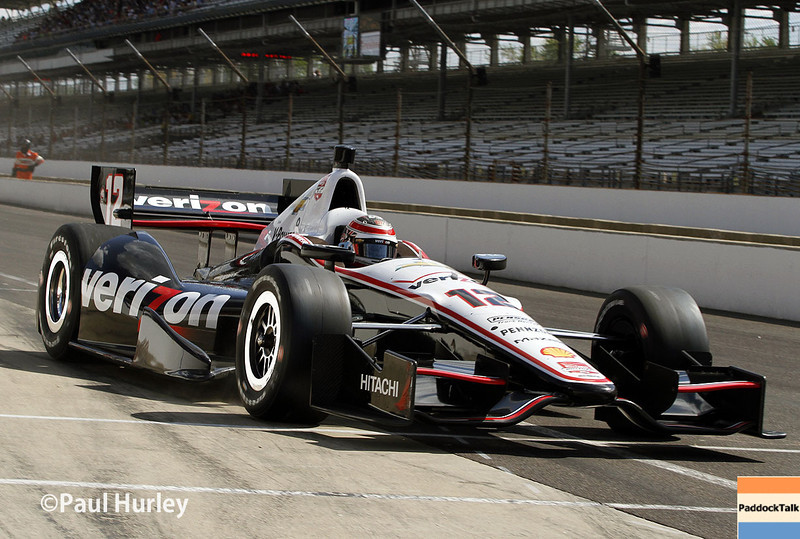 May 10: Will Power during the Grand Prix of Indianapolis.