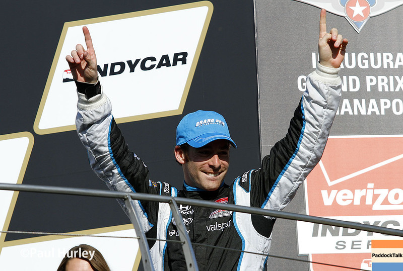 May 10: Simon Pagenaud race winner during the Grand Prix of Indianapolis.
