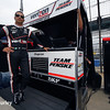 May 9: Helio Castroneves during practice and qualifications for the Grand Prix of Indianapolis