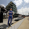 May 12: Ryan Briscoe during practice for the Indianapolis 500.