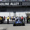 May 12: Gasoline Alley during practice for the Indianapolis 500.