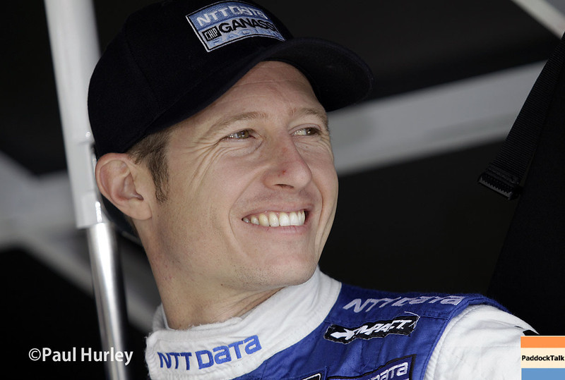 May 13: Ryan Briscoe during practice for the Indianapolis 500.