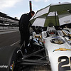 May 16: Ed Carpenter during practice for the Indianapolis 500.