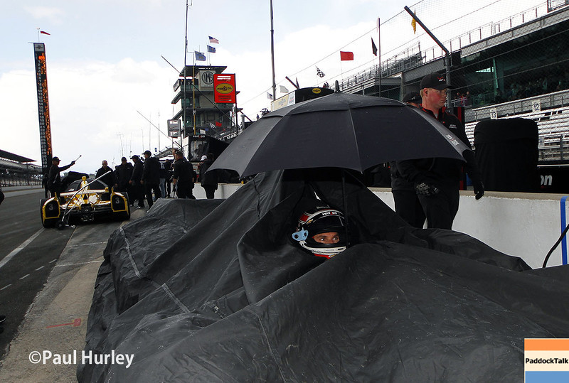 May 16: during practice for the Indianapolis 500.