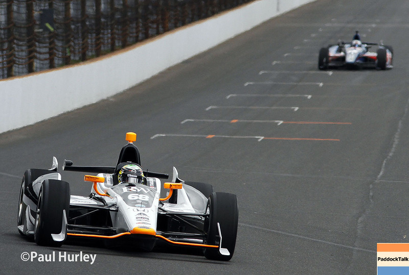 May 15: Josef Newgarden during practice for the Indianapolis 500.