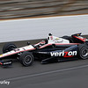 May 10: Will Power during practice for the Indianapolis 500.
