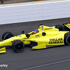 May 15: Jacques Villeneuve during practice for the Indianapolis 500.