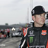 May 12: Kurt Busch during practice for the Indianapolis 500.