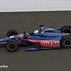 May 15: Graham Rahal during practice for the Indianapolis 500.