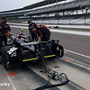 May 12: Jack Hawksworth during practice for the Indianapolis 500.