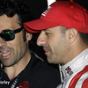 May 13: Dario Franchitti and Tony Kanaan during practice for the Indianapolis 500.