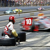 May 25: Tony Kanaa pit stop during the 98th Indianapolis 500.