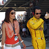 May 25: Helio Castroneves before the 98th Indianapolis 500.