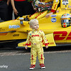 May 26: Ryden Hunter-Reay after the 98th Indianapolis 500.