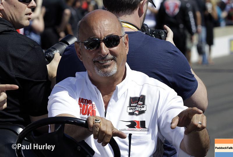 May 25: Bobby Rahal during the 98th Indianapolis 500.