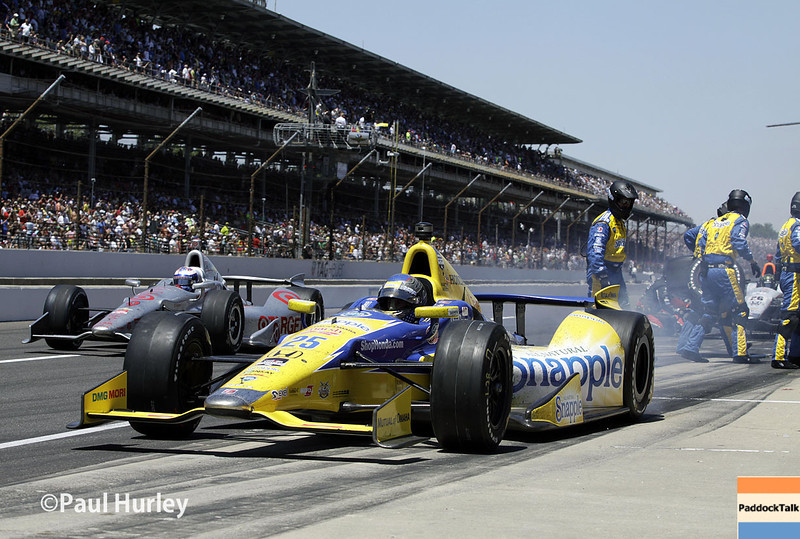 May 25: Marco Andretti during the 98th Indianapolis 500.