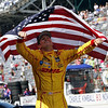 May 25: Ryan Hunter-Reay after the 98th Indianapolis 500.