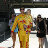 May 25: The Ryan Hunter-Reay family before the 98th Indianapolis 500.