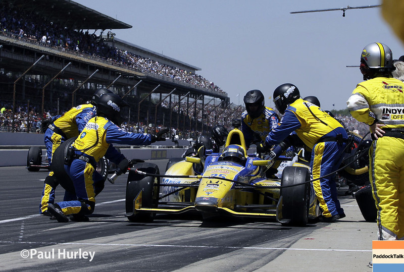 May 26: Marco Andretti during the 98th Indianapolis 500.