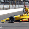 May 26: Ryan Hunter-Reay after the 98th Indianapolis 500.