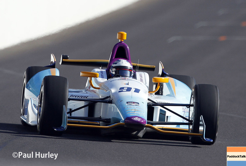 May 18:  Buddy Lazier during qualifications for the Indianapolis 500.