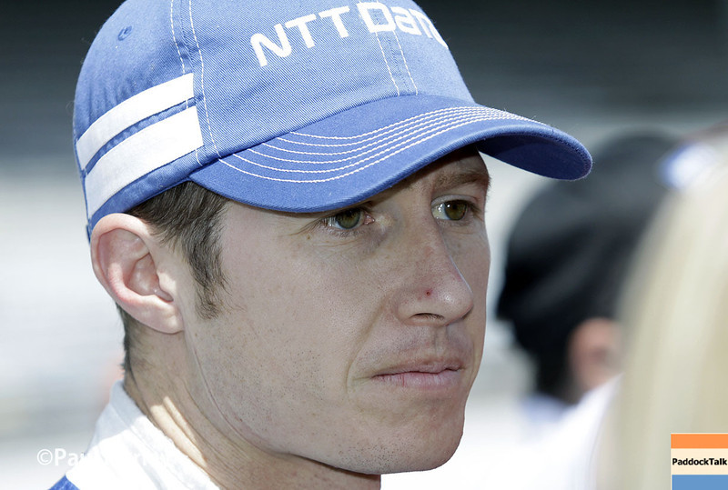 May 17:  Ryan Briscoe during qualifications for the Indianapolis 500.