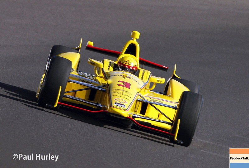 May 18:  Helio Castroneves during qualifications for the Indianapolis 500.