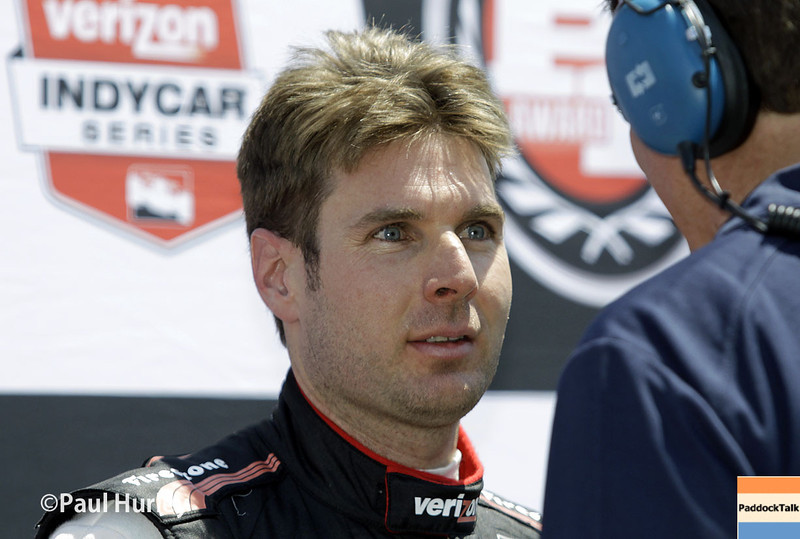 May 18:  Will Power during qualifications for the Indianapolis 500.