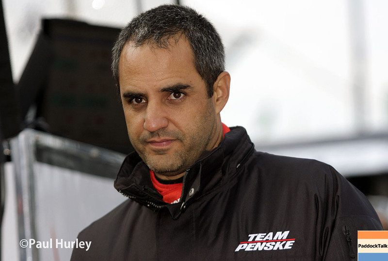 May 17:  Juan Montoya during qualifications for the Indianapolis 500.