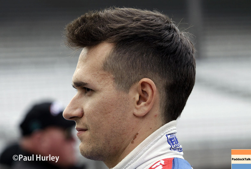 May 17:  Mikhail Aleshin during qualifications for the Indianapolis 500.