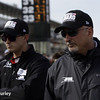 May 17:  Graham Rahal and Bobby Rahal during qualifications for the Indianapolis 500.