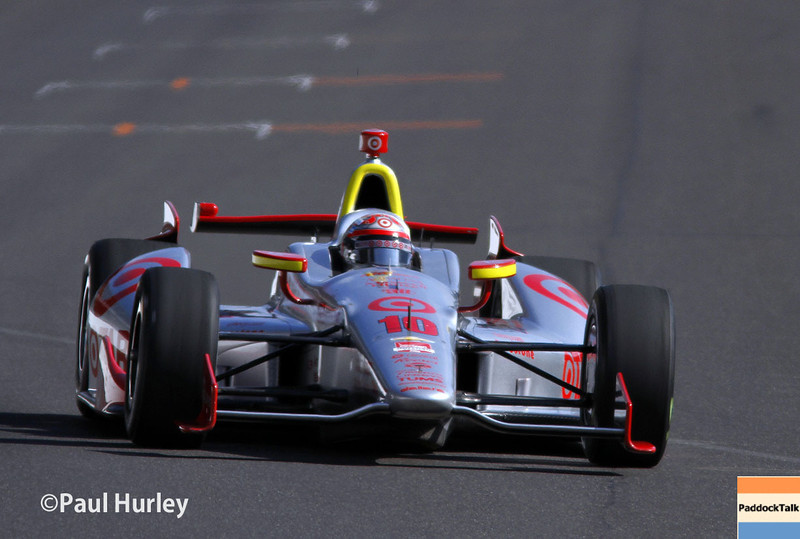 May 17:  Tony Kanaan during qualifications for the Indianapolis 500.