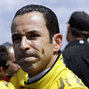 May 17:  Helio Castroneves during qualifications for the Indianapolis 500.